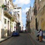 A street in old Havana